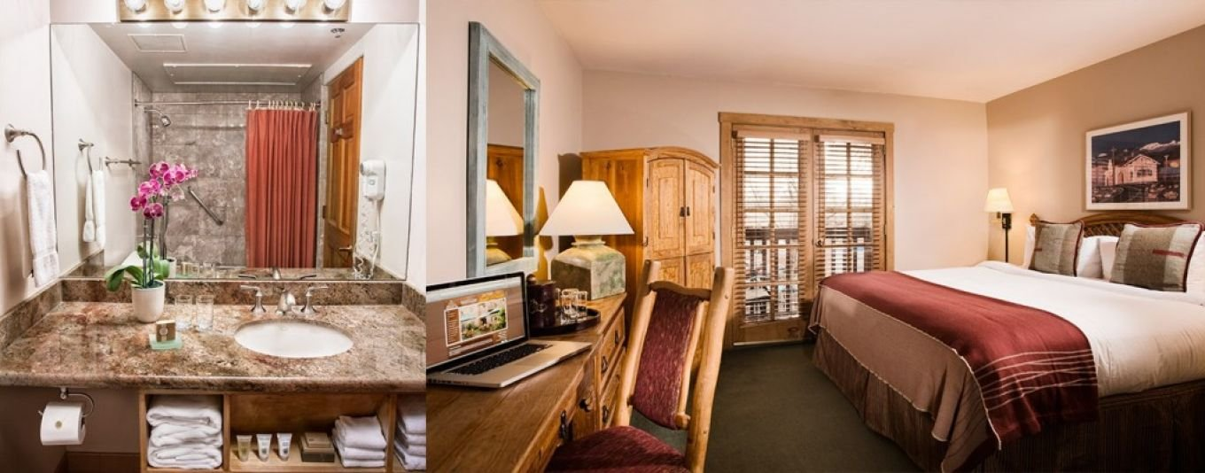 Traditional King Guestroom Accessible