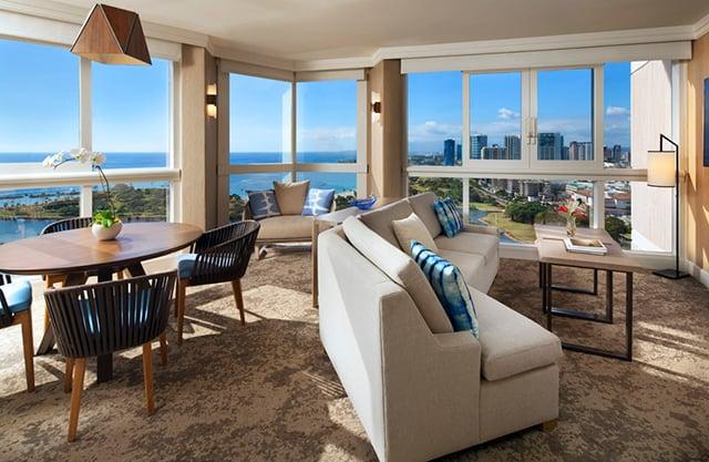 Ocean Front Two Bedroom Suite
