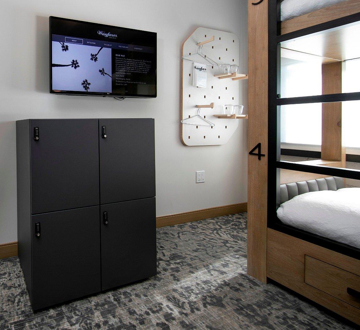 Quad Bunk Room (F)