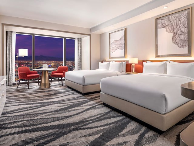 Conrad: Strip View Premium Room - Two Queen Beds​