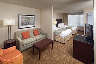 Mini Suite Two Double Beds