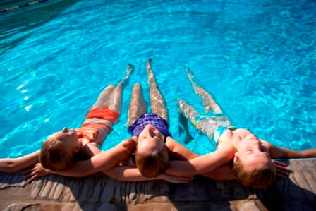 Hot Springs Pool Package