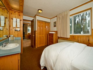 One Bedroom Suite: One Queen Bed & Private Bath