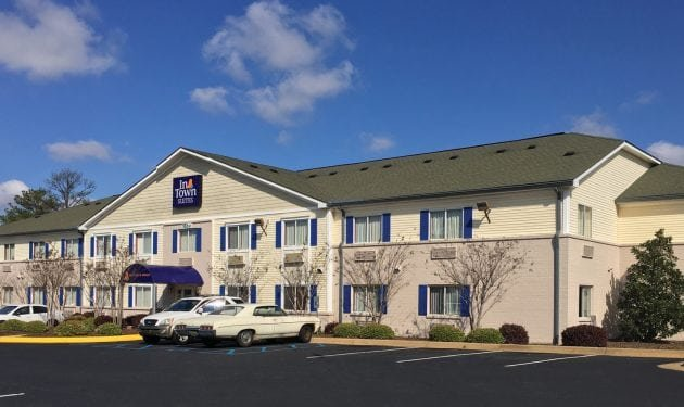 InTown Suites Extended Stay Tuscaloosa AL - University of Alabama