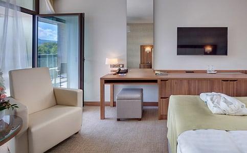 Premium Dvojposteľová izba (krídlo Esplanade)