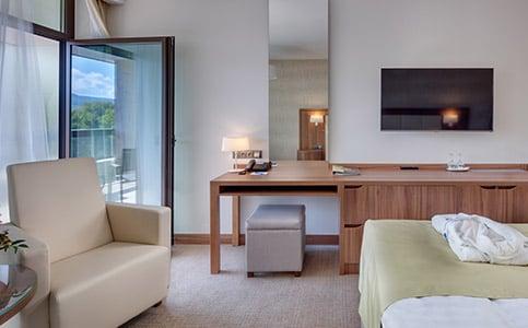 Premium Plus Dvojposteľová izba (Krídlo Esplanade)