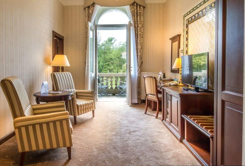 Junior Suite de luxe s výhledem
