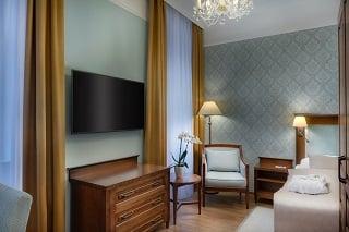 Jednolůžkový pokoj Premium