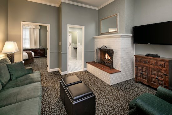 Accessible Fireside Suite