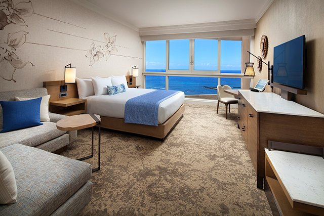 Prince Waikiki Club Floor Room
