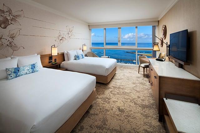 Ocean Front One Bedroom Suite.