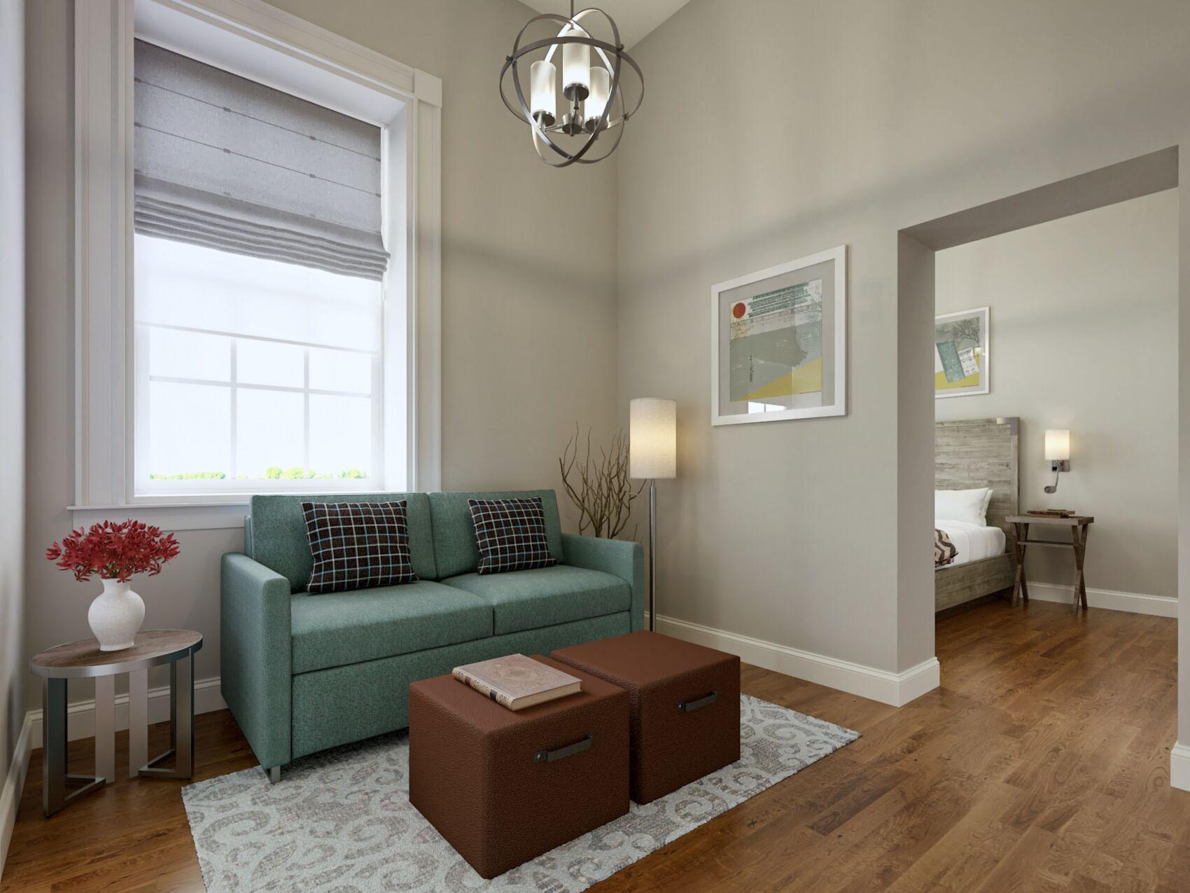 Queen Suite with Sleeper Sofa
