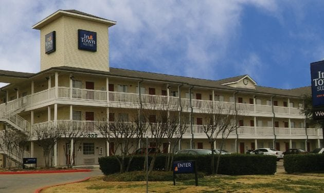 InTown Suites Extended Stay Plano TX