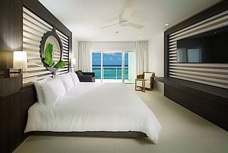 Ocean View Junior Suite King with Double Sleeper Sofa