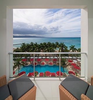 Sky Club Suite Ocean View King with Double Sleeper Sofa