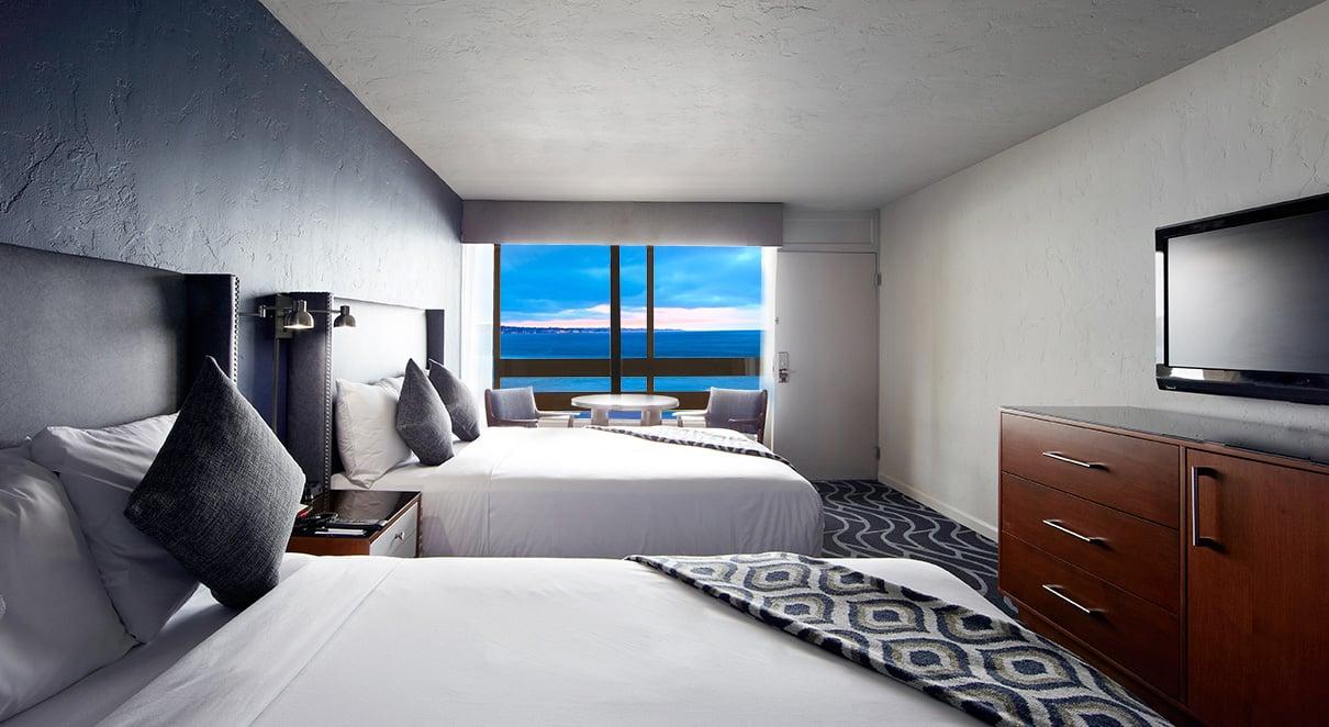 Premium Ocean View Two Queen