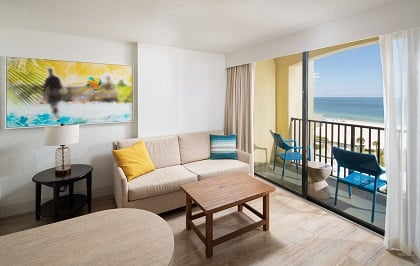 Ocean Front Two Queen Suite