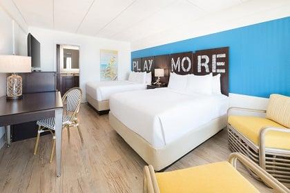 Resort Guest Room Two Queens