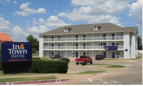 InTown Suites Extended Stay Arlington TX - Central