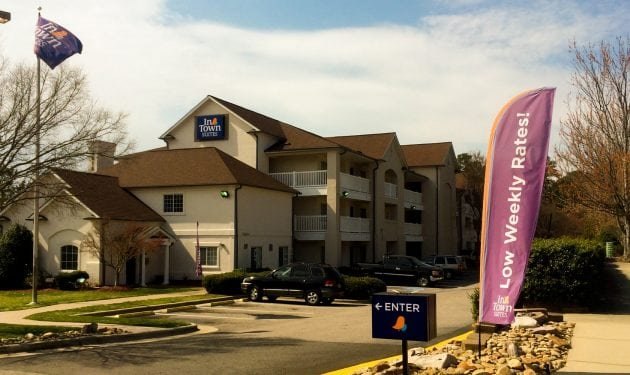 InTown Suites Extended Stay Raleigh NC