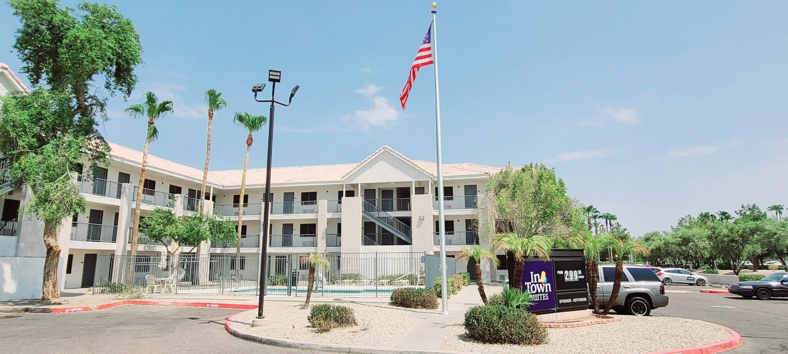 InTown Suites Extended Stay Phoenix AZ - Gilbert