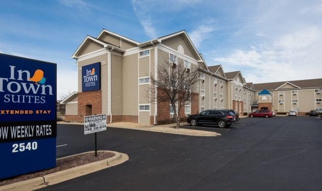 InTown Suites Extended Stay Chicago IL - Downers Grove