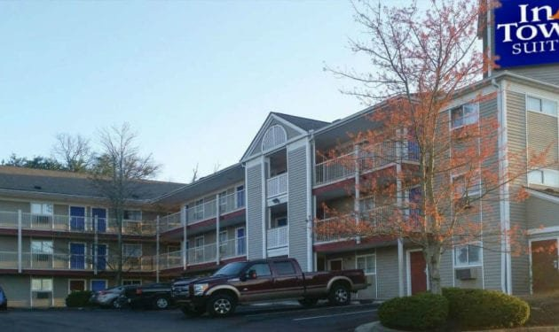 InTown Suites Extended Stay Knoxville TN