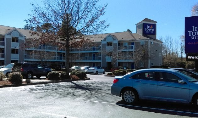 InTown Suites Extended Stay North Charleston SC - Mazyck