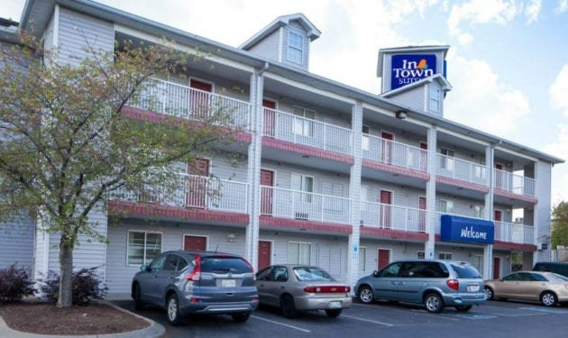 InTown Suites Extended Stay Jacksonville FL - Orange Park