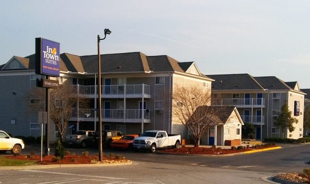 InTown Suites Extended Stay Savannah GA