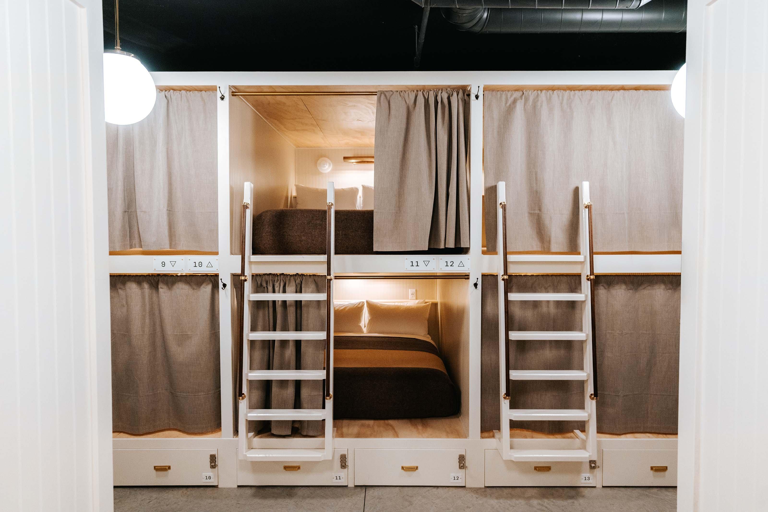 Queen Bed Upper Bunk