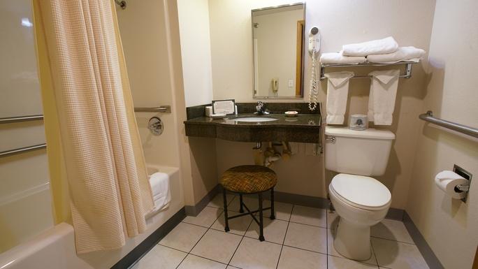 Handicap Queen Room
