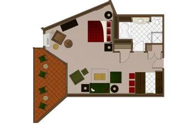Lodges Middle King Suite
