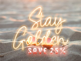 Stay Golden - Save 25%