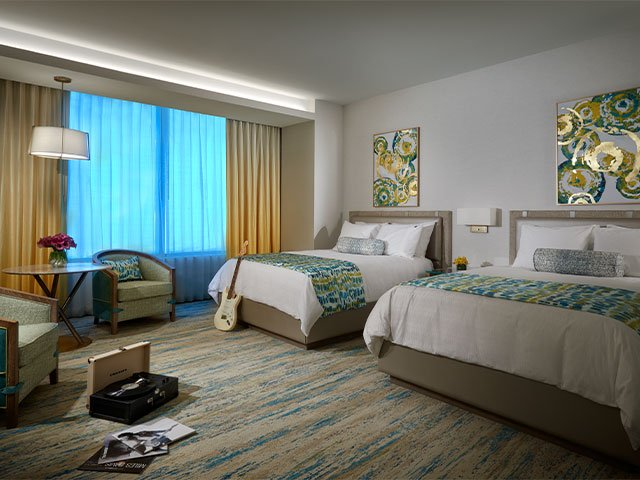 OASIS TOWER: Deluxe Two Queen Beds Non Smoking