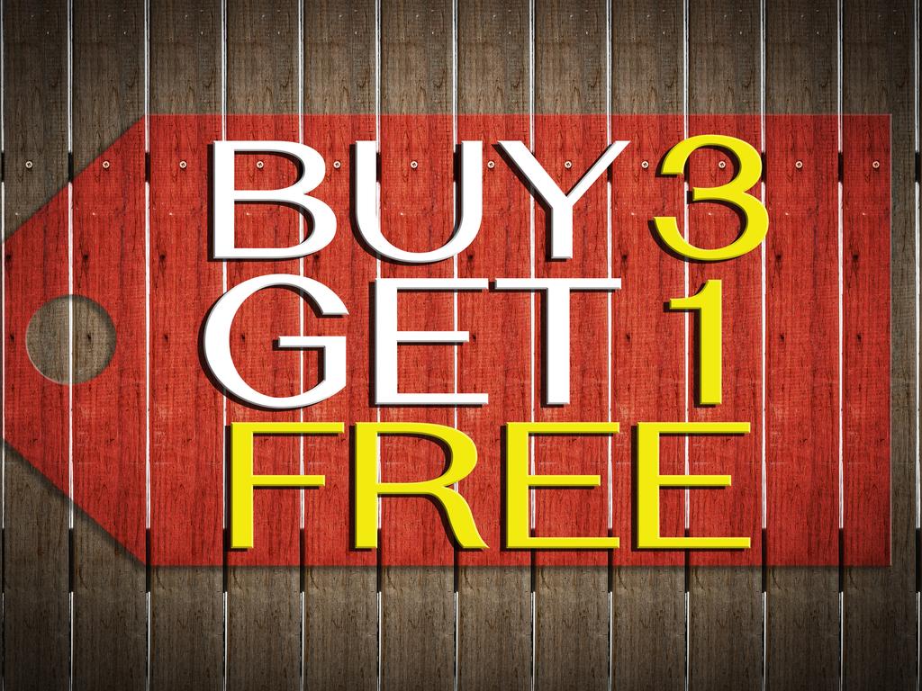 Buy 3 Nights Get 4th Night Free