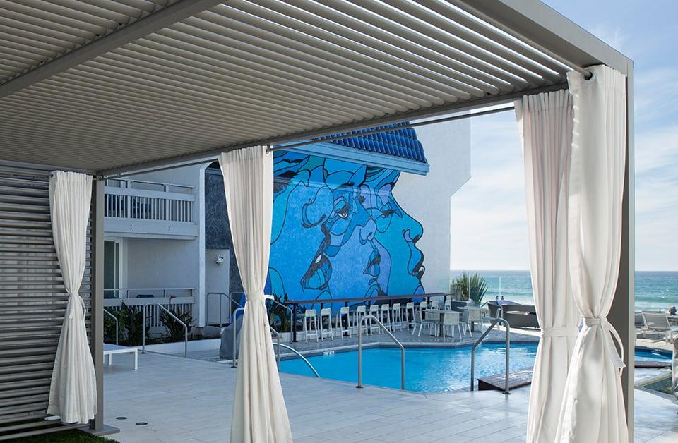 Oceanview Poolside Cabana Suite