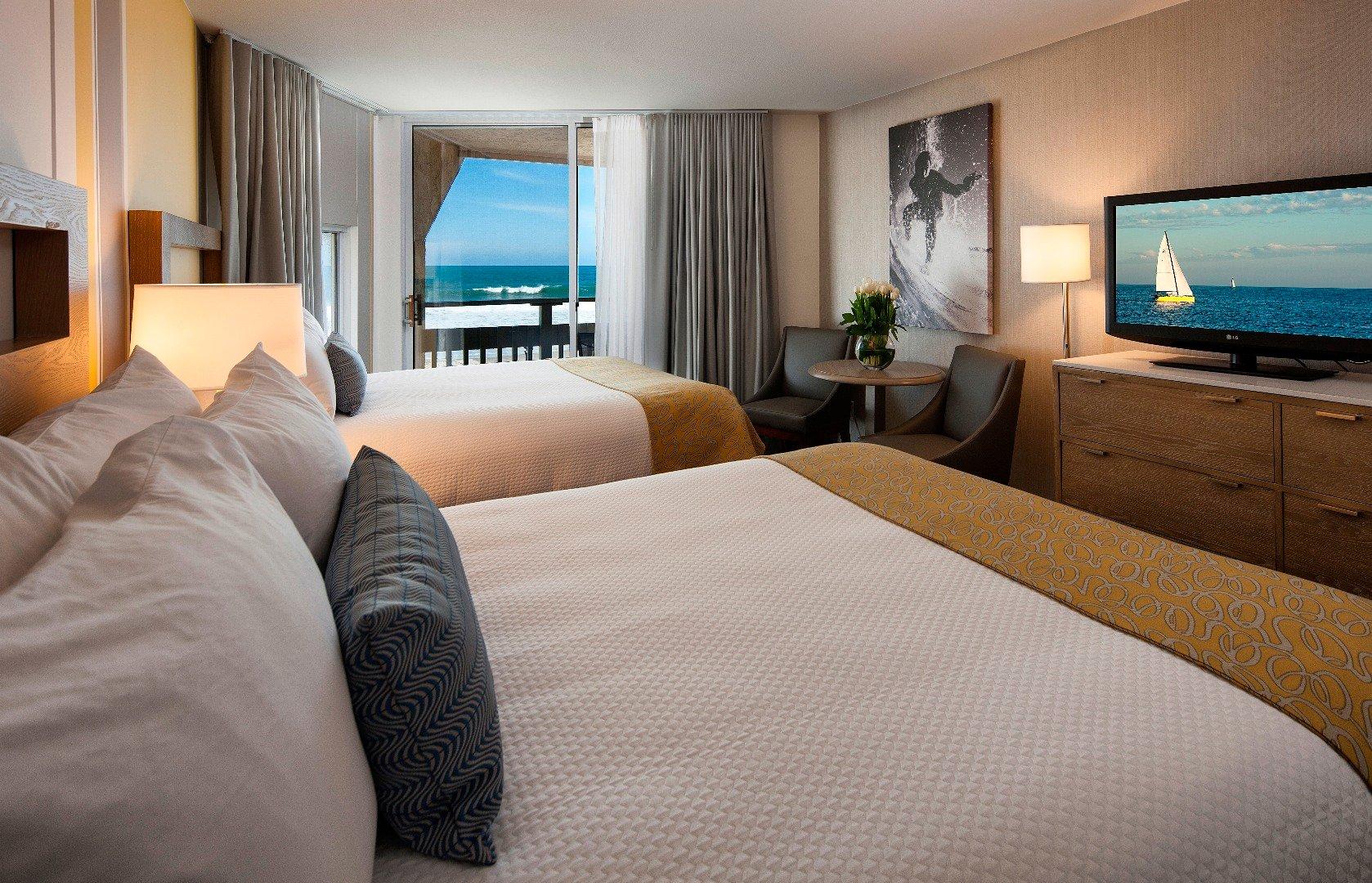 Oceanfront Suite with 2 Queen Beds