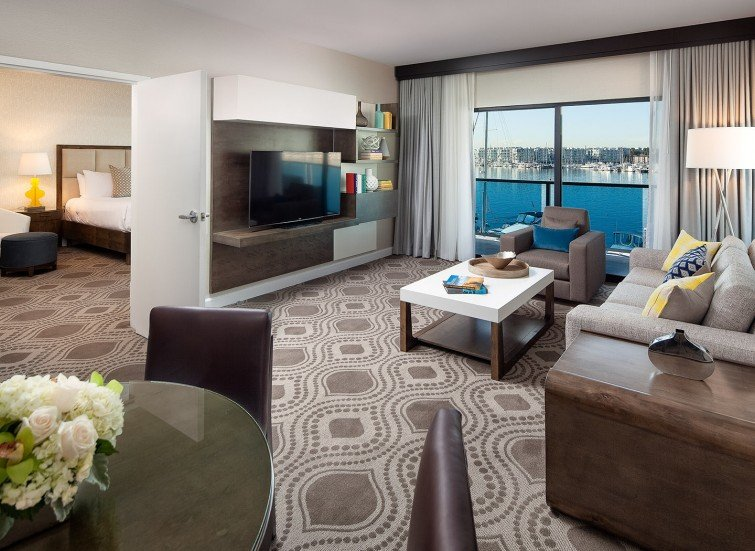 Grand 1-Bedroom Marina View Suite