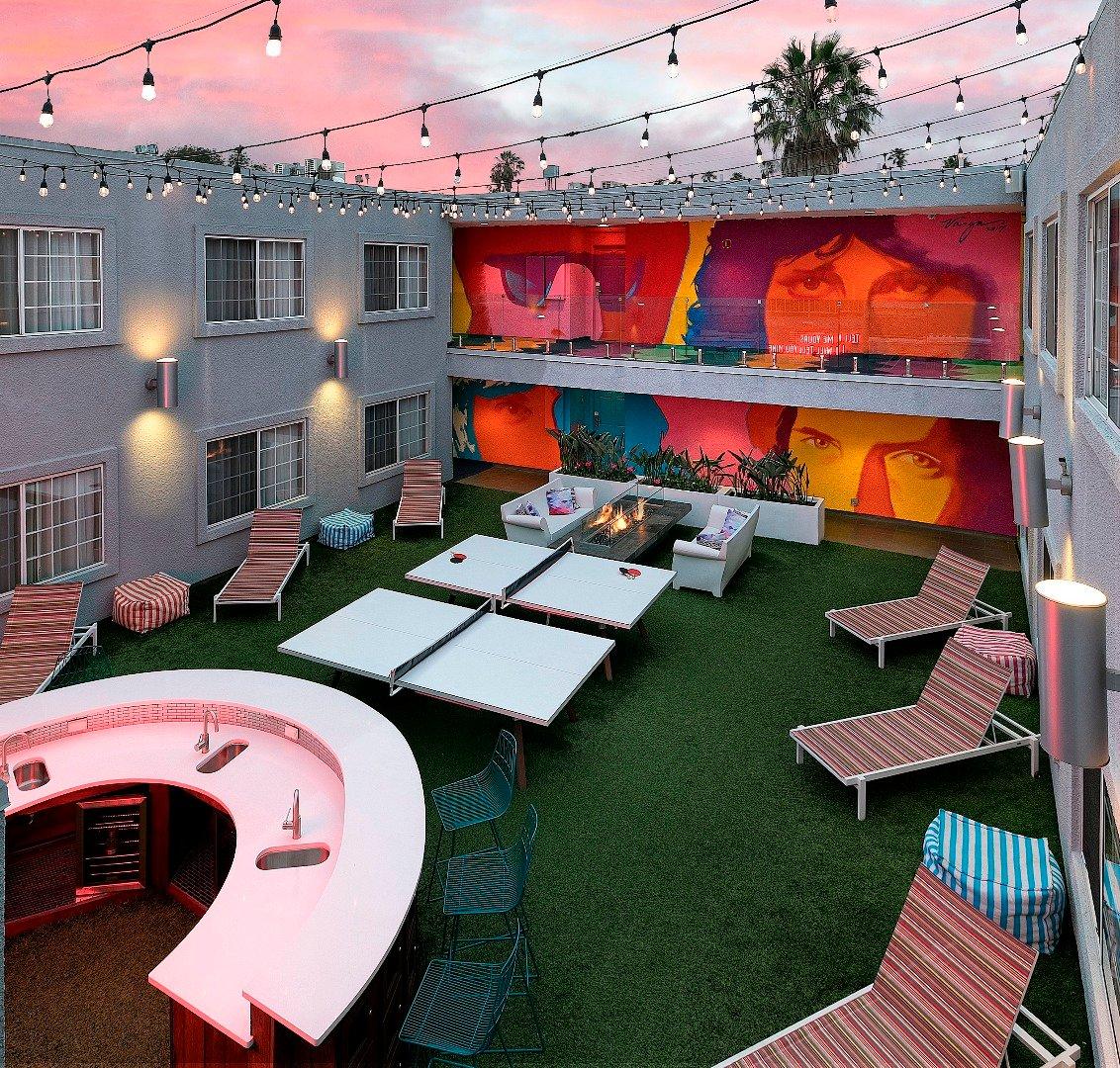 Quad (Courtyard) View King Suite