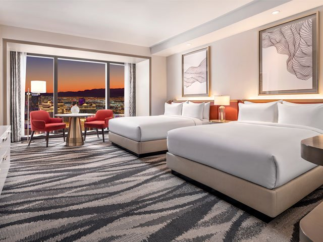 Conrad: Strip View Two Bedroom Suite - Two King Beds​