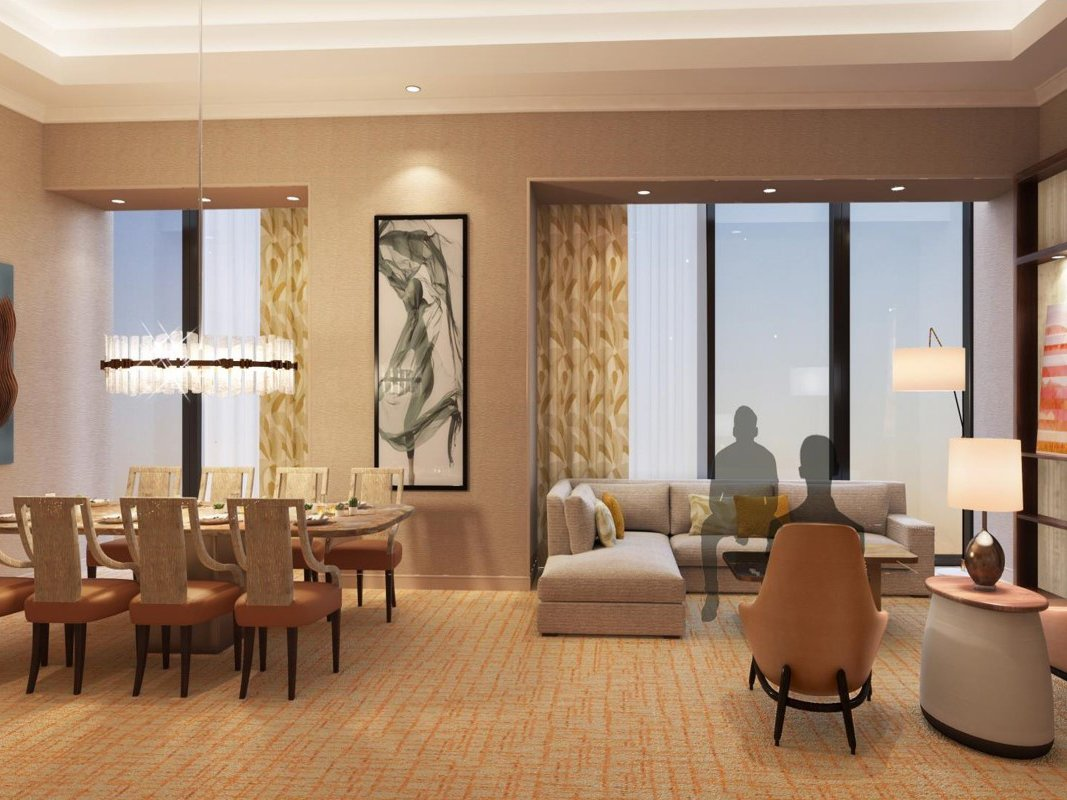 Hilton: Strip View Two Bedroom Presidential Suite