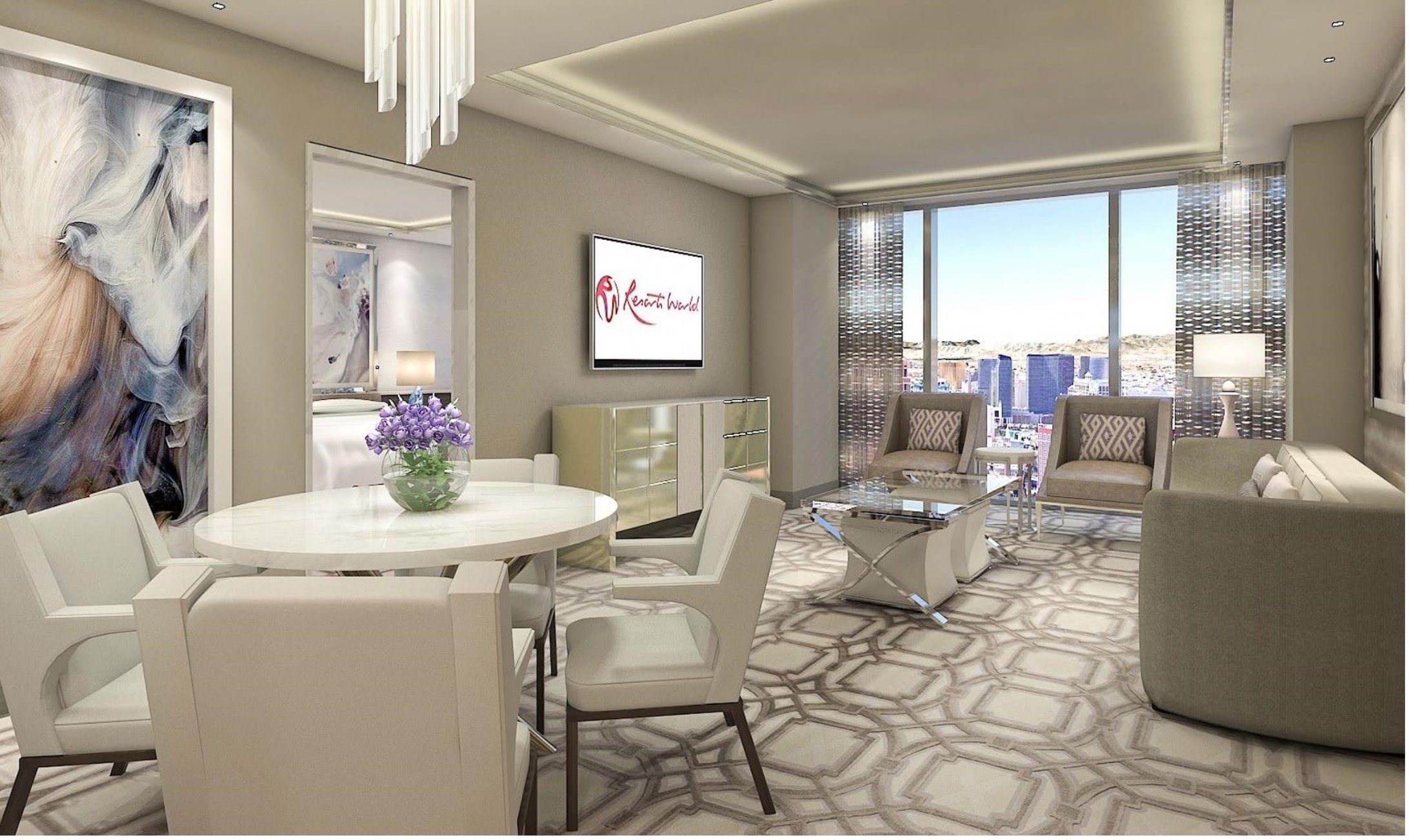 Crockfords: City View One Bedroom Suite - One King Bed