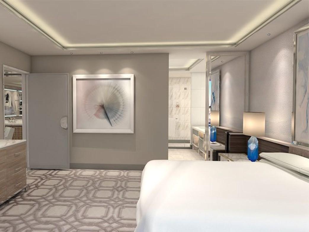 Crockfords: Strip View One Bedroom Suite - One King Bed