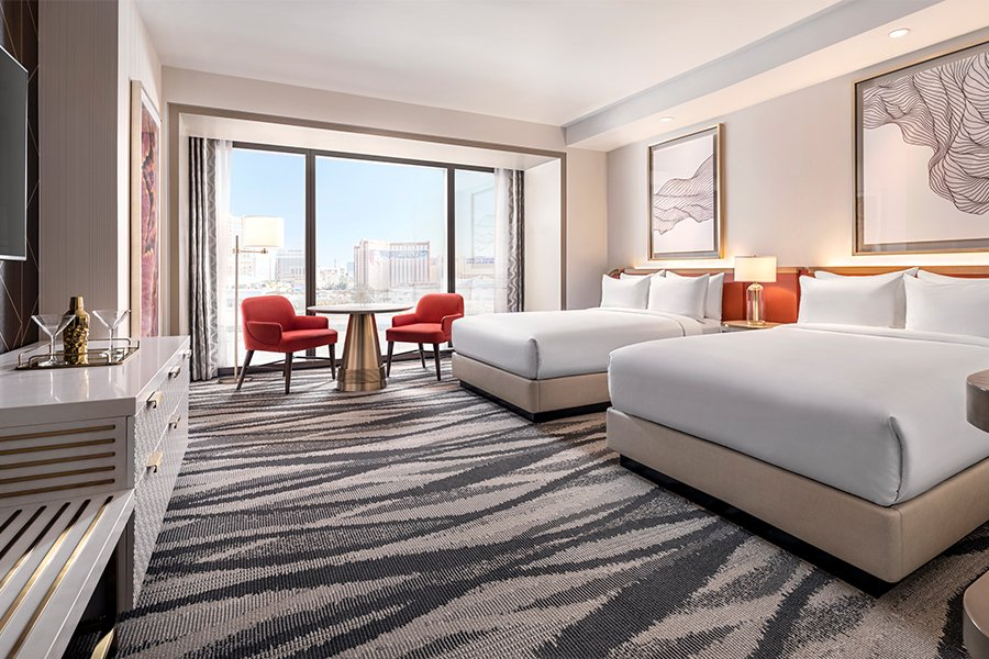 Conrad: City View Premium Room - Two Queen Beds